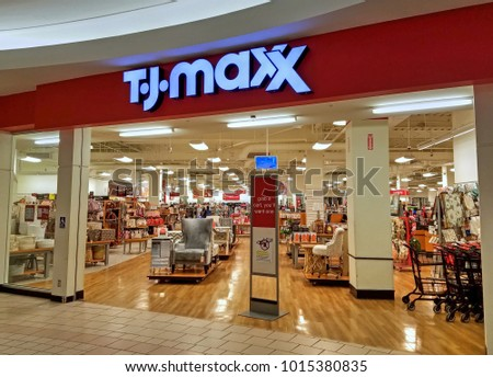 HDR Image TJ Maxx Storefront Entrance Stock Photo (Edit Now ...