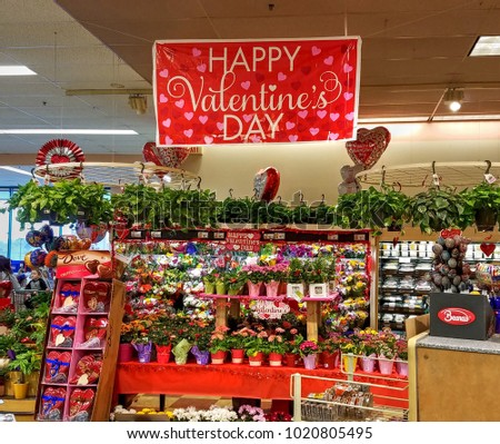 Hdr Image Valentines Day Holiday Display Stock Photo Edit Now