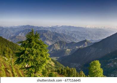 HDR Landscapes Dalhousie Himachal Pradesh