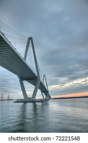 HDR View of the Cooper River Bridge