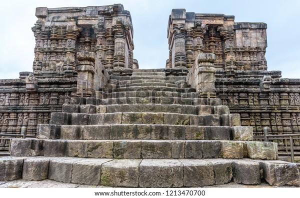 He Ancient Indian Architecture Konark Sun Stock Photo (Edit