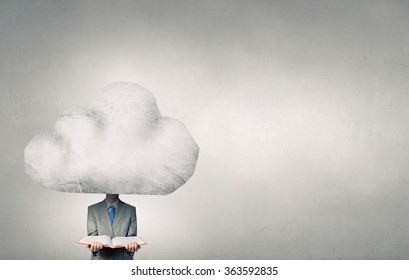 He is up in the clouds