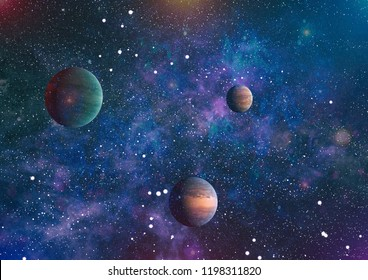 he explosion supernova. Bright Star Nebula. planets, stars and galaxies in outer space showing the beauty of space exploration. Distant galaxy. Abstract image. Elements of this image furnished by NASA