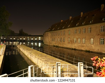 he Vauban Dam or the the Great Lock or the Barrage Vauban is a bridge, weir and defensive work erected in the 17th century on the River Ill in Strasbourg, France
