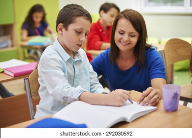 He is a very good student