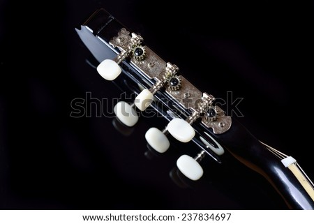 Head Acoustic Guitar Tuning Machine Heads Stock Photo Edit Now