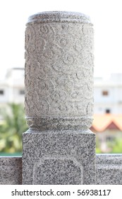 A head of column chinese style, Thailand.