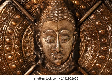 Head and face of the Buddha