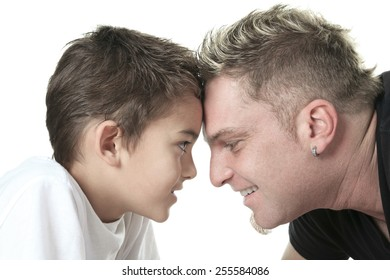 A Head to Head Father and Son.