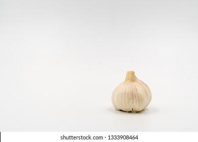 A head of garlic