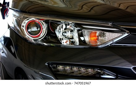head light lamp of city car new model