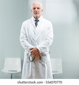head physician attending to your problem and listening about your needs and demands