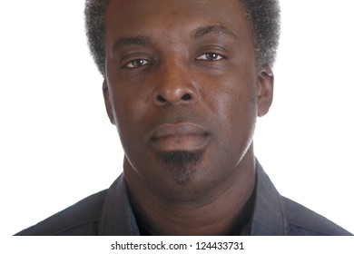 head shot of african american man