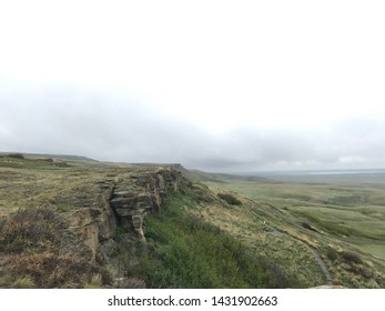 Head Smashed In Buffalo Jump in Southern Alberta Canada
