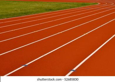 Head Start Red, Blue, Yellow Running Track