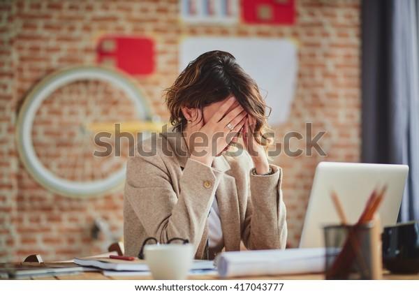 職場の頭痛