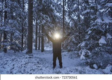Headlamp winter
