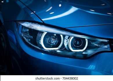 Headlight lamp of new cars