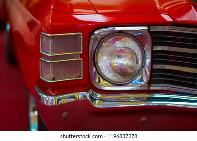 headlight old retro car