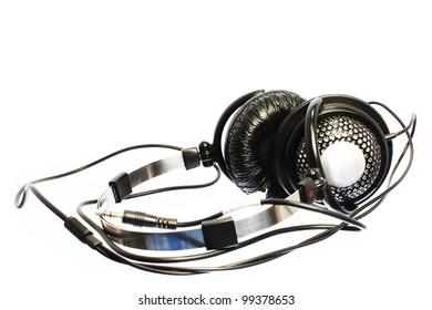 headphones are isolated