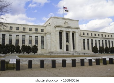 headquarter of the Federal Reserve in Washington, DC, USA, FED