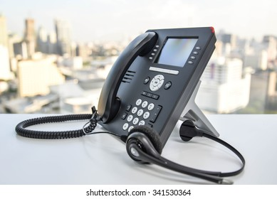 Headset and the IP Phone