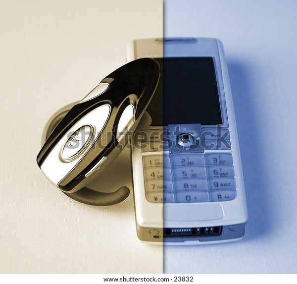 headset and phone