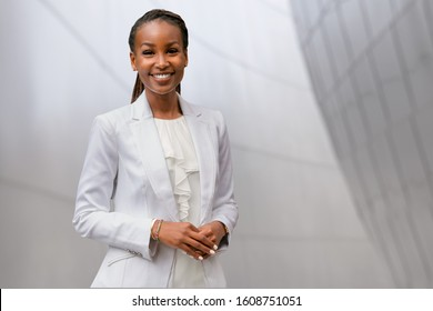 Headshot of an african american businesswoman, CEO, finance, law, attorney, legal, representative