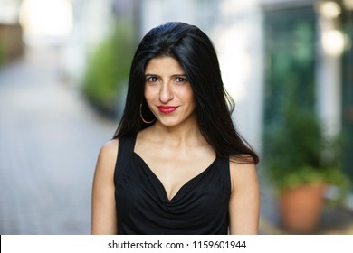 Headshot of a beautiful indian woman