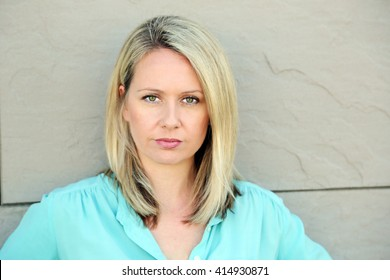 headshot of blonde woman