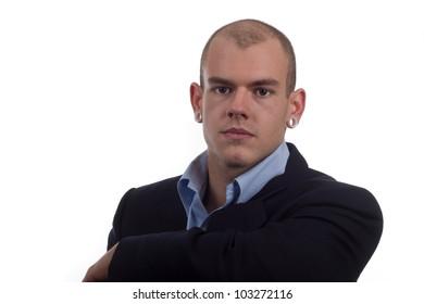 headshot of a contemporary entrepreneur