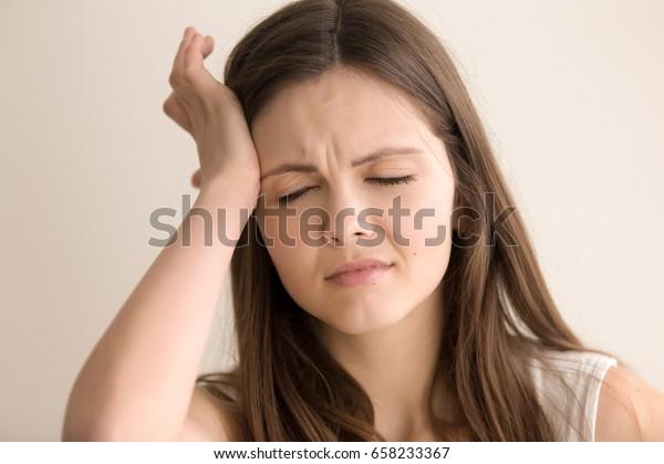 Mareos fatiga presión de la cabeza