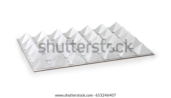 Healing Pyramid Energy Generator Photography Isolated Stock