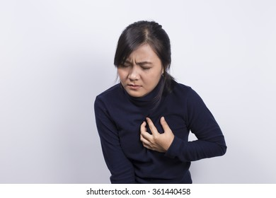 Health Care: Woman has chest pain