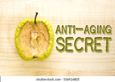 Health concept: anti-aging secret