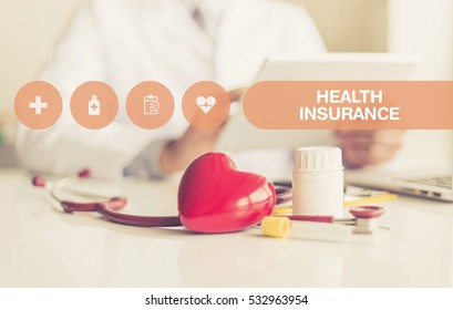 HEALTH CONCEPT: HEALTH INSURANCE