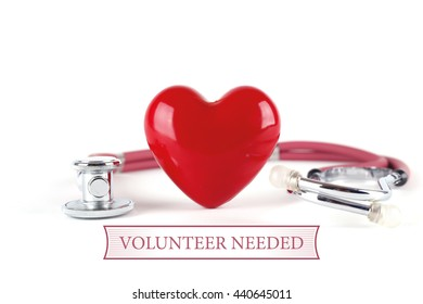 HEALTH CONCEPT VOLUNTEER NEEDED