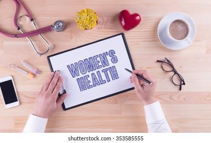 Health Concept: WOMEN'S HEALTH