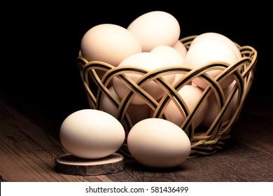 health food -- egg from farm