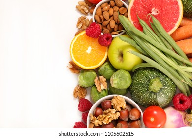 health food, fruit and vegetable