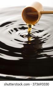 Health food of Japan, black vinegar