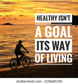 Healthy Lifestyle Quotes Stock Photos, Images & Photography