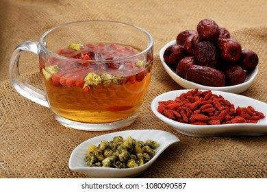 Health tea and its materials