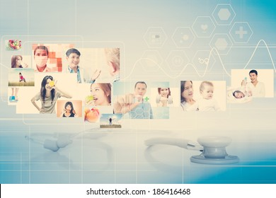 Healthcare And Medical Concept Background
