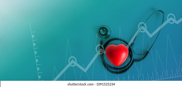 Healthcare Medical examination  business graph marketing analysis report health