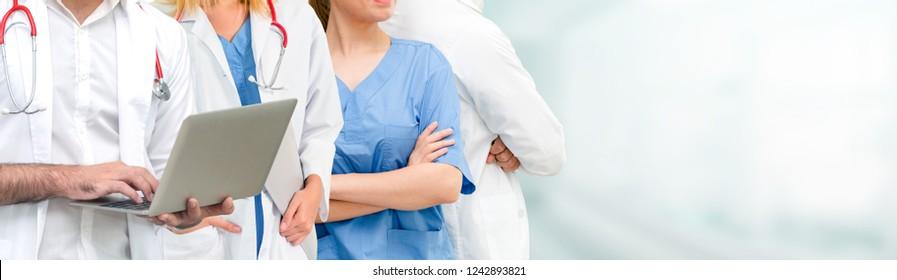 Imágenes, fotos de stock y vectores sobre Group Doctors Banner