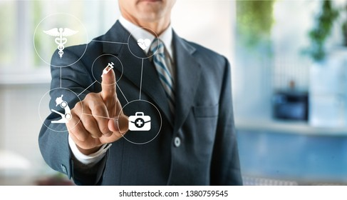 Healthcare technology access accountability banner business care