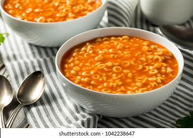Healthy Alphabet Soup in Tomato Sauce  Ready to Eat