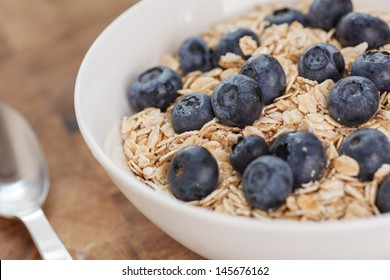 Healthy Blueberries Oatmeal