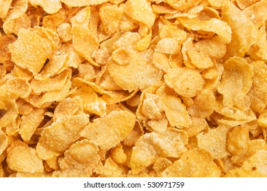 healthy and crunchy cornflakes to use as background